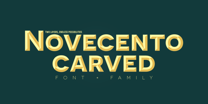 Novecento Wide Font Family Free Download